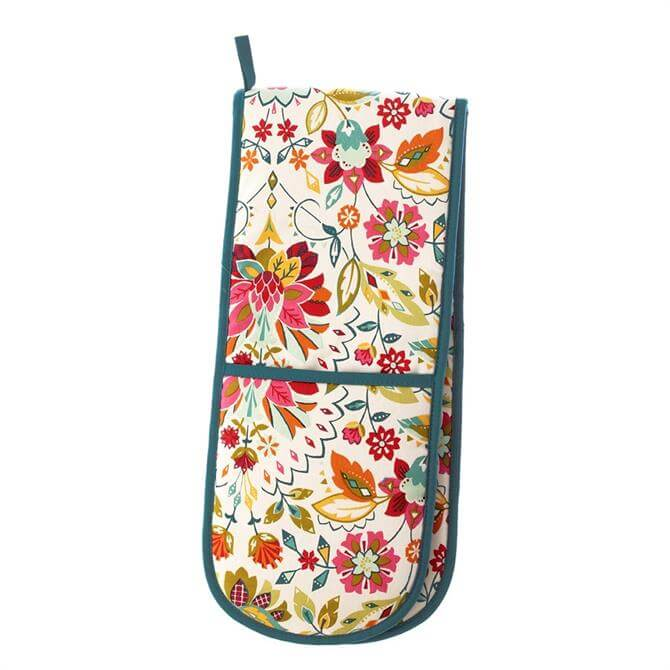 Ulster Weavers Bountiful Floral Double Oven Gloves