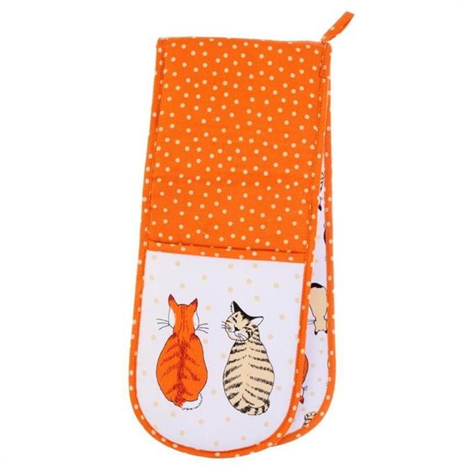 Ulster Weavers Cats in Waiting Double Oven Gloves
