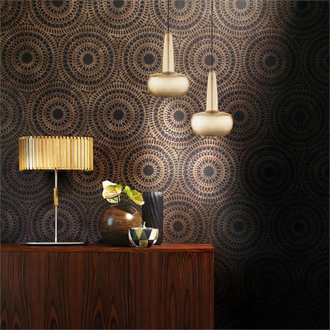 Clava Lampshade Brushed Brass