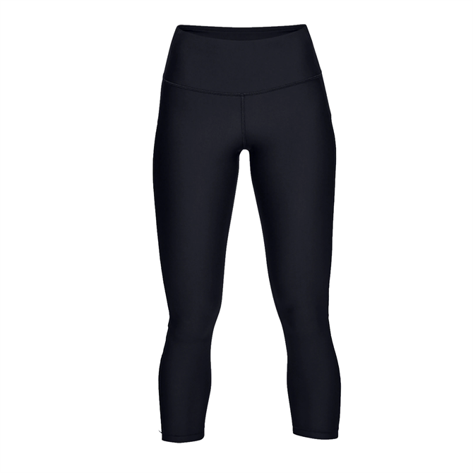 Under Armour Women's HeatGear Armour Cropped Legging - Black
