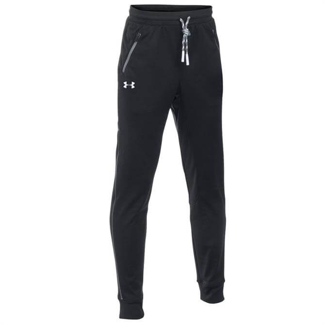 Under Armour Boy's Pennant Tapered Trousers- Black