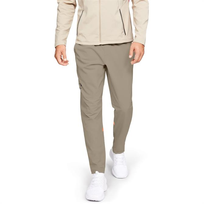 Under Armour Men's StormCyclone Tracksuit Bottoms- City Khaki