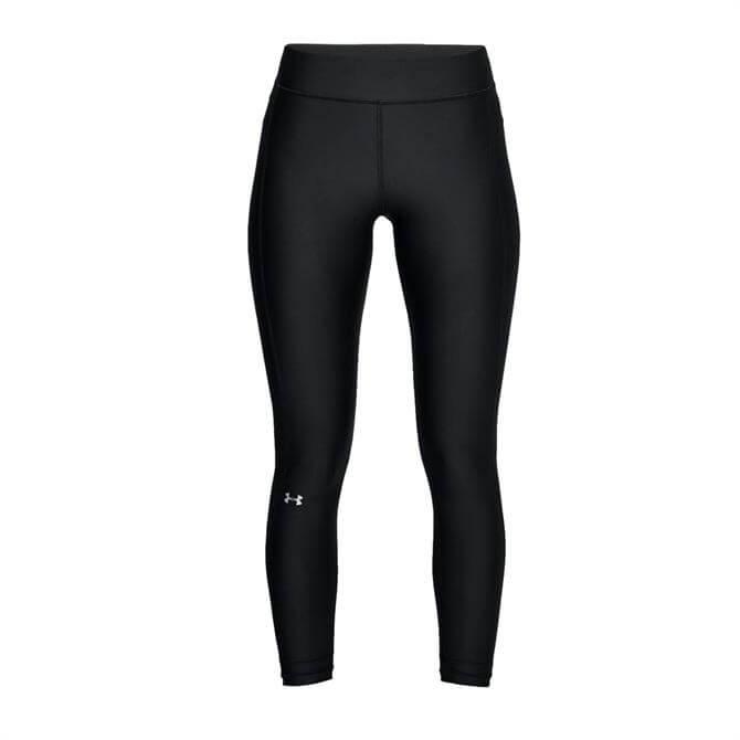 Under Armour Women's HeatGear Armour Ankle Crop Tight - Black
