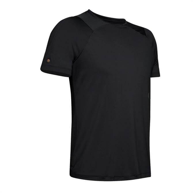 Under Armour Men's Rush Short Sleeve T-Shirt - Black