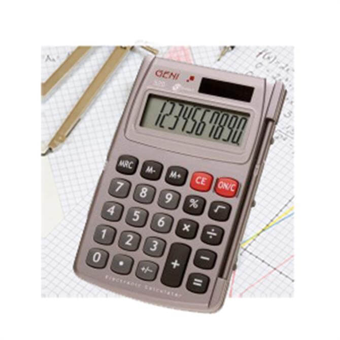 Genie 520 Pocket Calculator