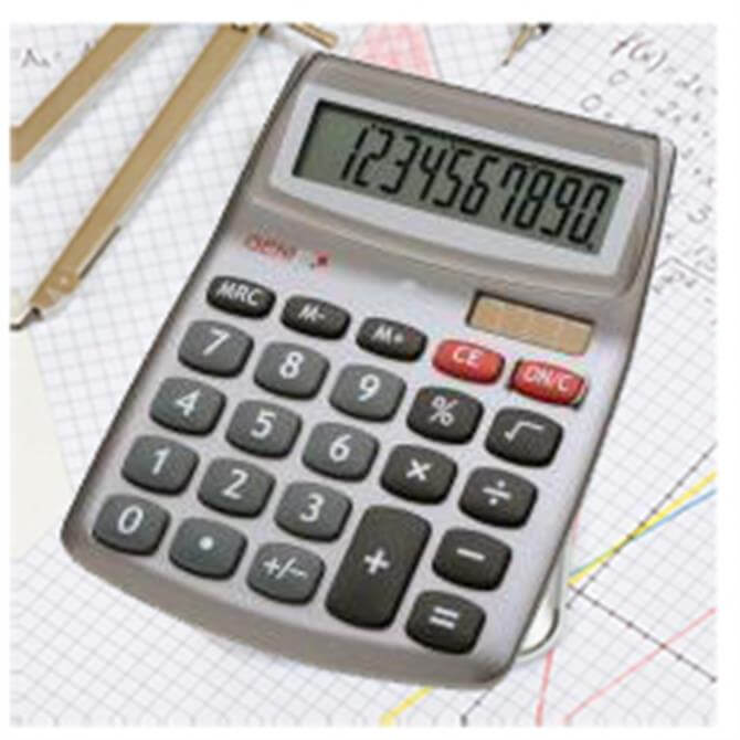 Genie 540 Desktop Calculator