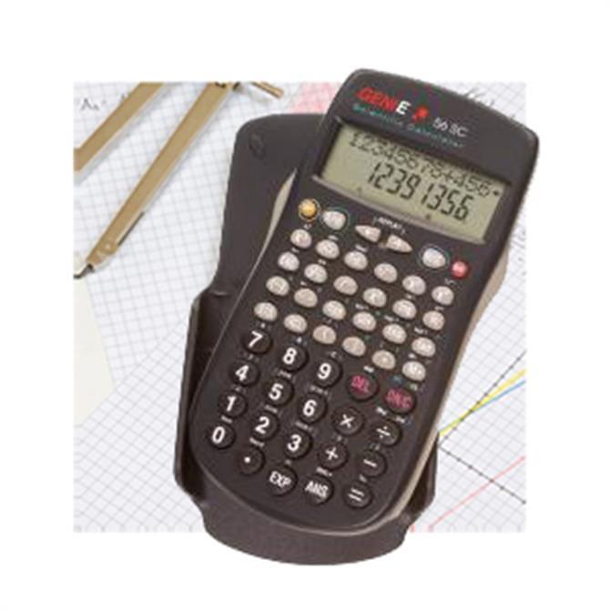 Genie Scientific 56 SC Calculator