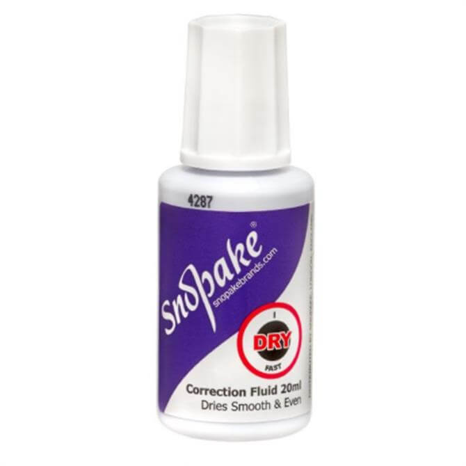 Snopake Hi-Tec Correction Fluid