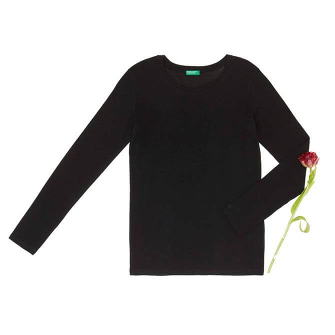 United Colors of Benetton Ribbed Long Sleeve T-Shirt