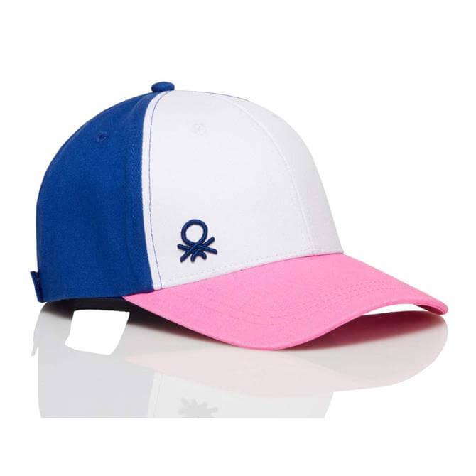 United Colors of Benetton Colour Block Baseball Cap