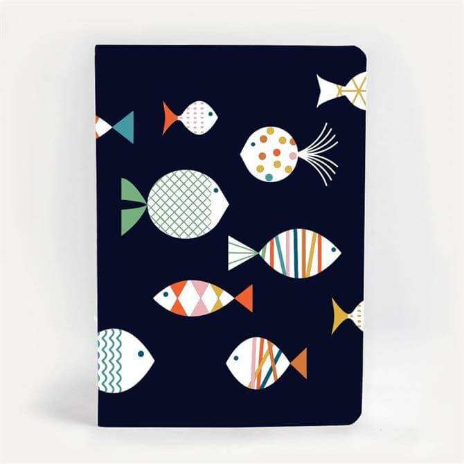 Blanca Gomez Fish A5 Notebook