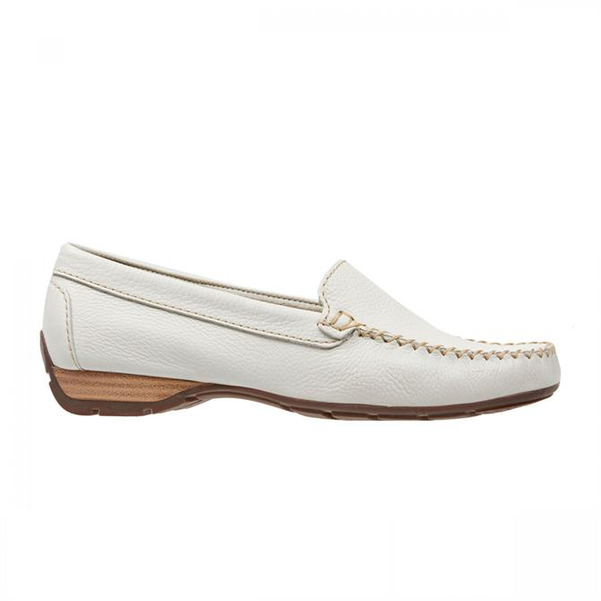 Van Dal Women's Sanson Off White Leather Loafer