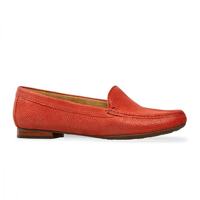Van Dal Women's Cherry Flame Pebble Print Loafers