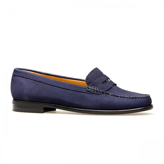 Van Dal Women's Hampden X Midnight Nubuck Loafers