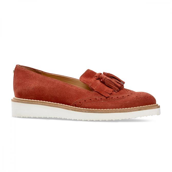 Van Dal Women's Winston Rust Loafers
