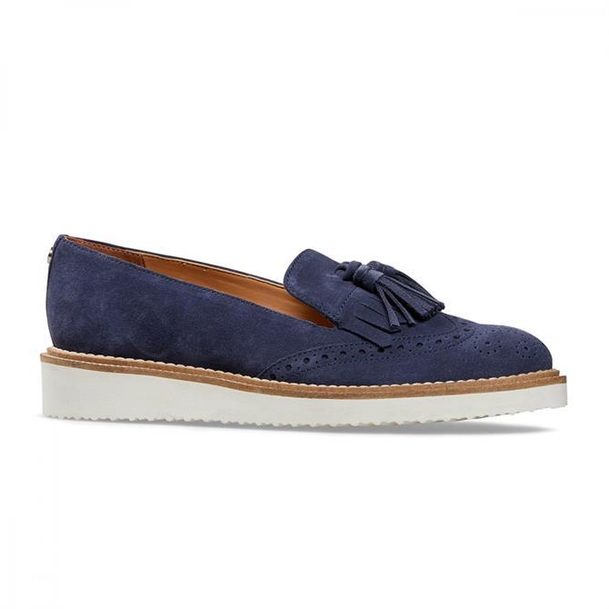 Van Dal Women's Winston Blue Suede Loafers