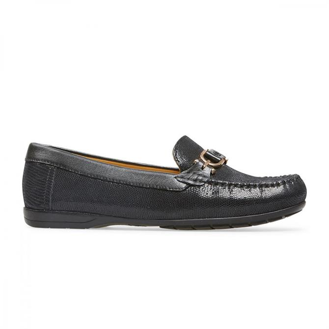 Van Dal Women's Bliss Black Print Loafers