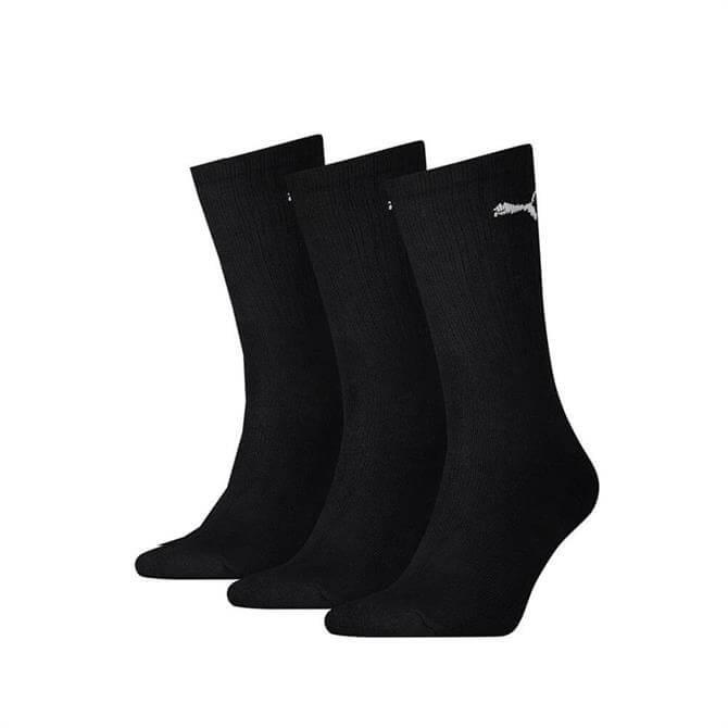 Puma Classic Cushioned Crew Socks - 3 Pack