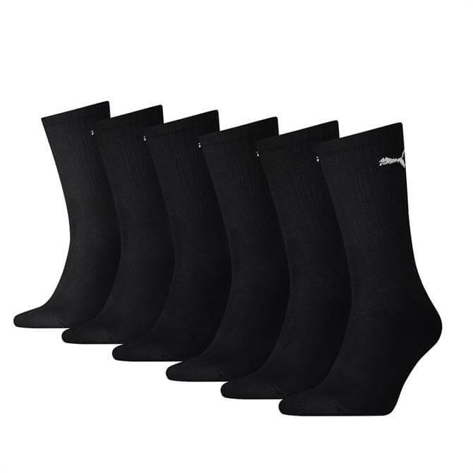 Puma Classic Cushioned Crew Socks - 6 Pack