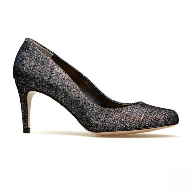 Van Dal Women's Albion II Black Manhattan Print Court