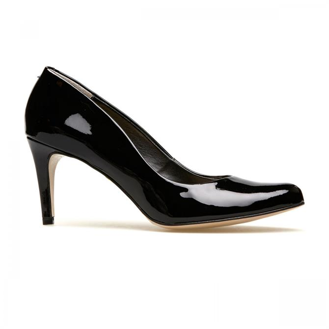 Van Dal Women's Albion II Black Patent Court Shoe