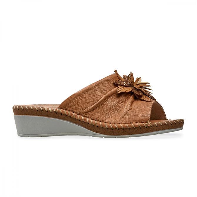 Van Dal Women's Banks Camel Mule Sandal