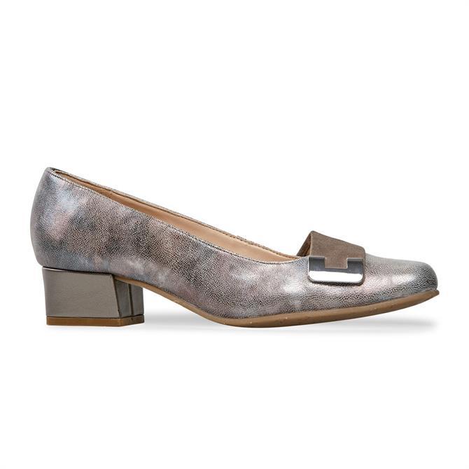 Van Dal Women's Duchess Pink Lunar Court Shoe