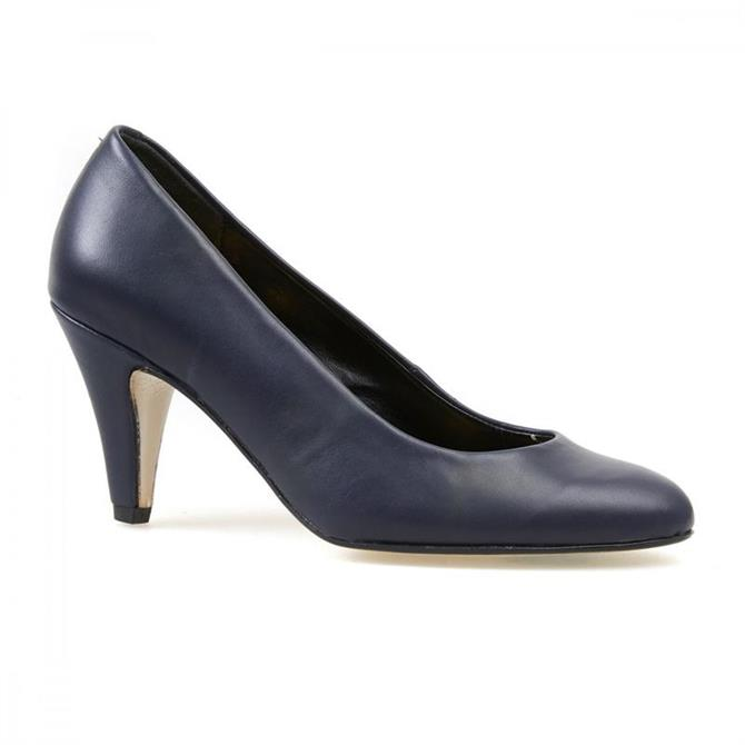 Van Dan Women's Holt Midnight Leather Court Shoe