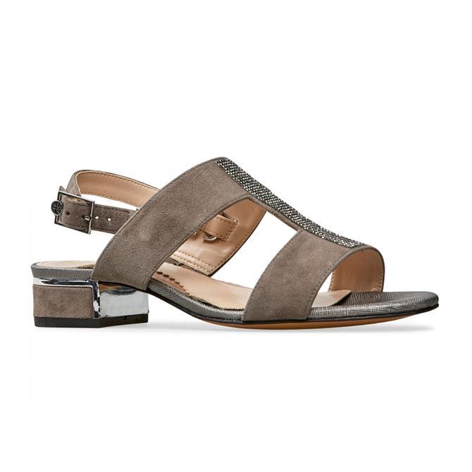 Van Dal Women's Ione II Moss Suede Sandal