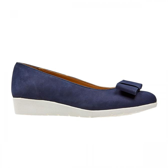 Van Dal Women's Sapphire Midnight Nubuck Wedge Pumps