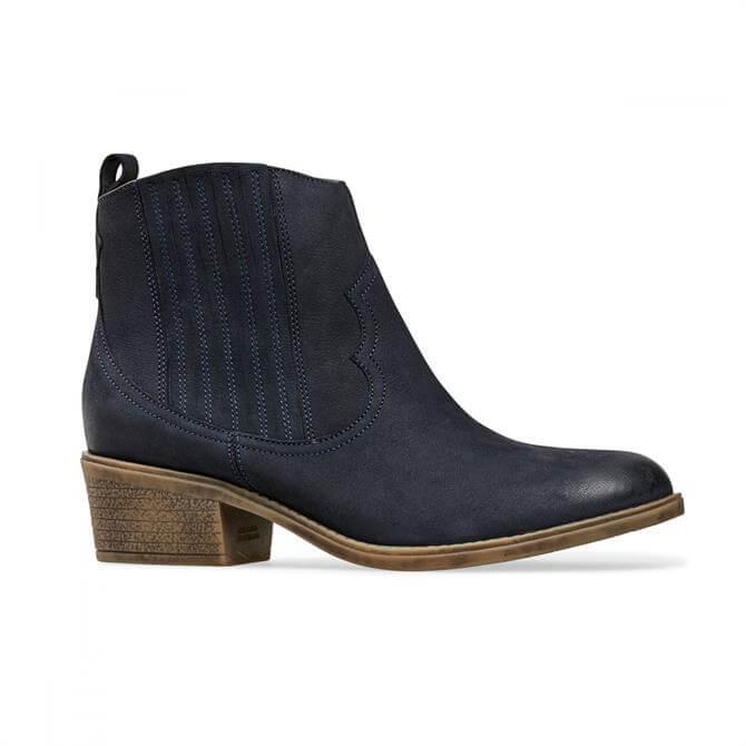 Van Dal Women's Jessie Midnight Nubuck Wider Fitting Boot