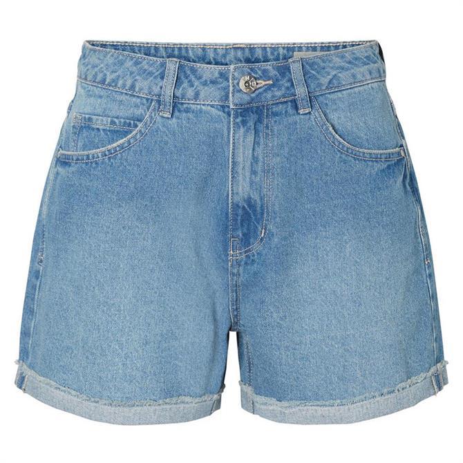 Vero Moda Nineteen High Waisted Denim Shorts