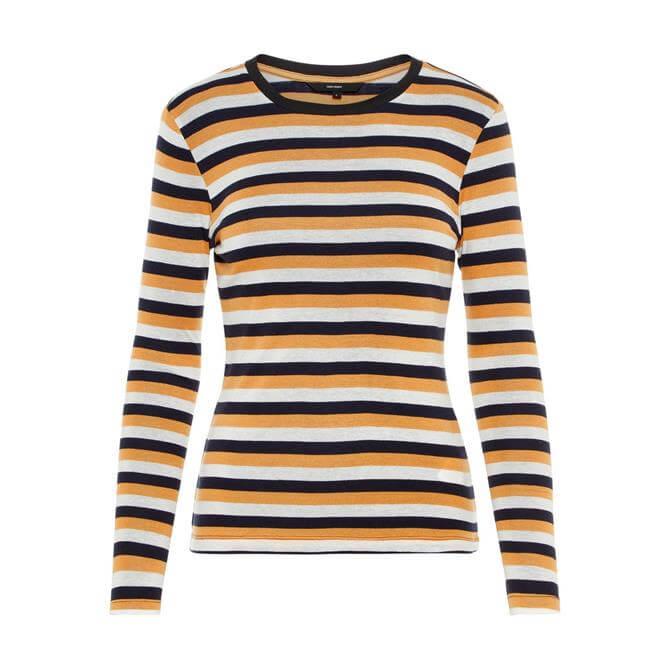 Vero Moda Striped Long Sleeved Top