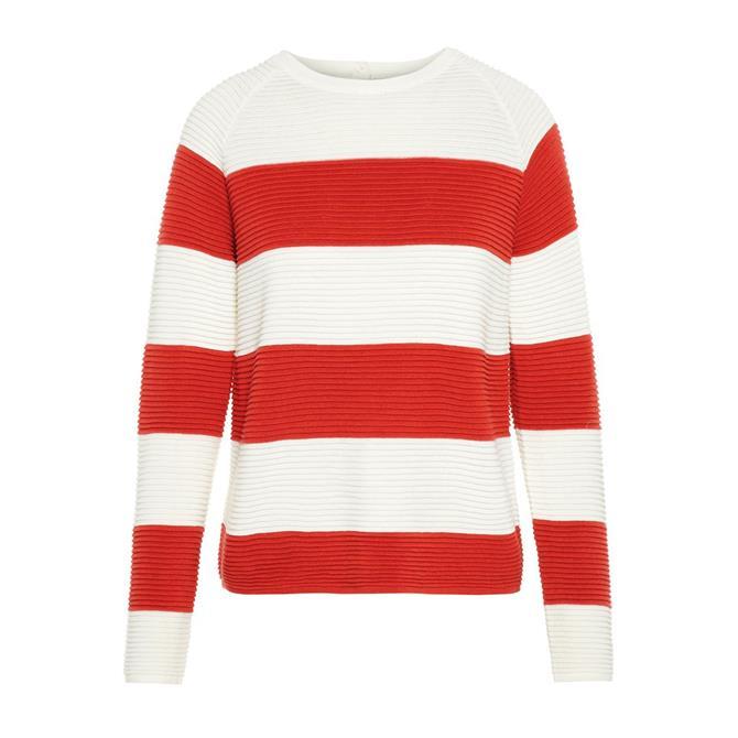 Vero Moda Sethe Wide Stripe Knitted Sweater