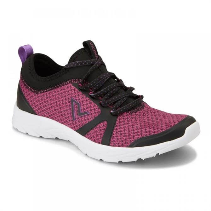 Vionic Women's Alma Black Pink Trainers