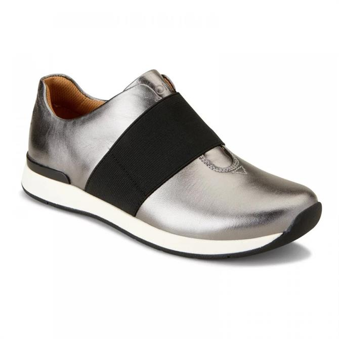 Vionic Women's Codie Pewter Casual Trainer