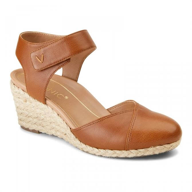 Vionic Women's Loika Toffee Espadrille Wedge