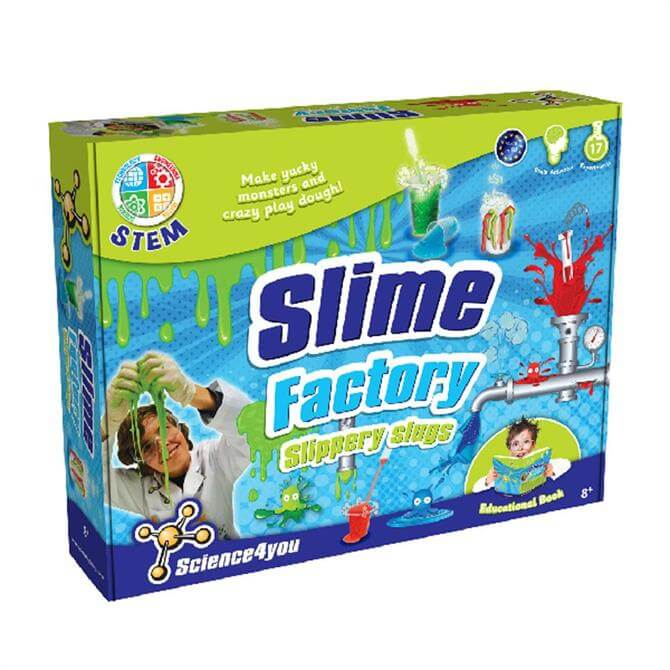 Science4you Slime Factory Slippery Slugs