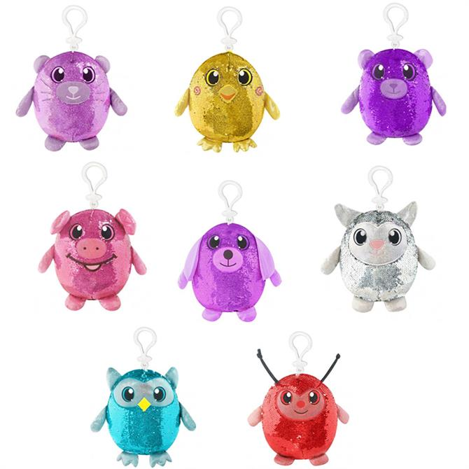 Shimmeez Clip On Sequin Toy Assorted