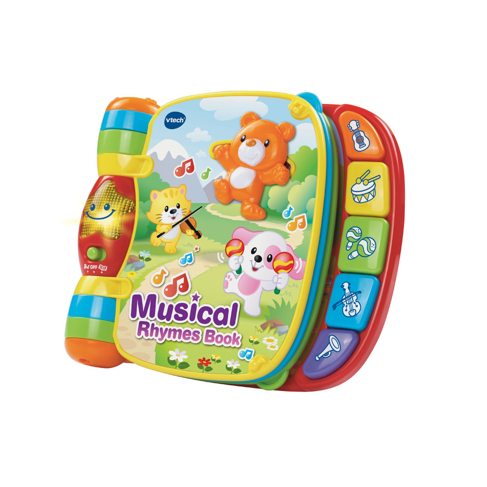 An image of Vtech Musical Rhymes Book