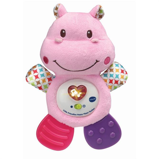 VTech Little Friendlies Happy Hippo Teether Pink