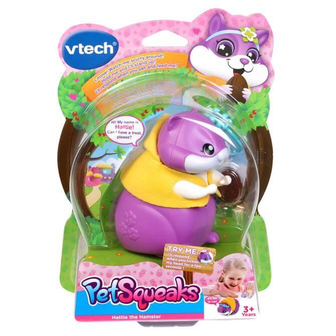 VTech PetSqueaks Hattie the Hamster