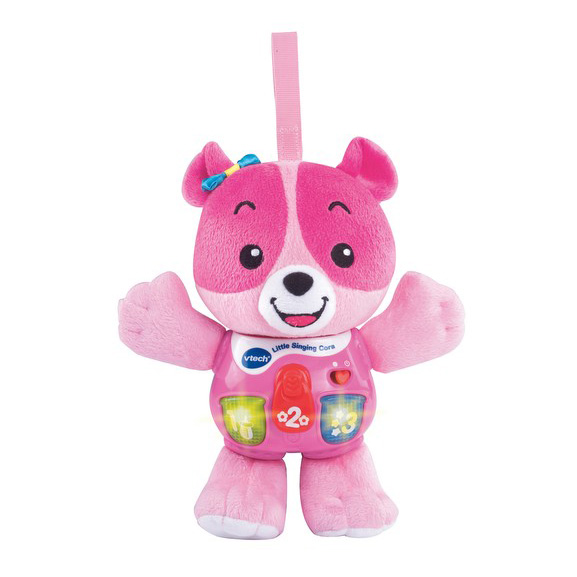 An image of VTech Little Singing Pink Puppy - PINK