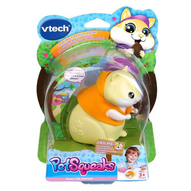 VTech PetSqueaks Sunny the Hamster