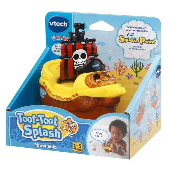 Vtech Toot Toot Splash Pirate Ship