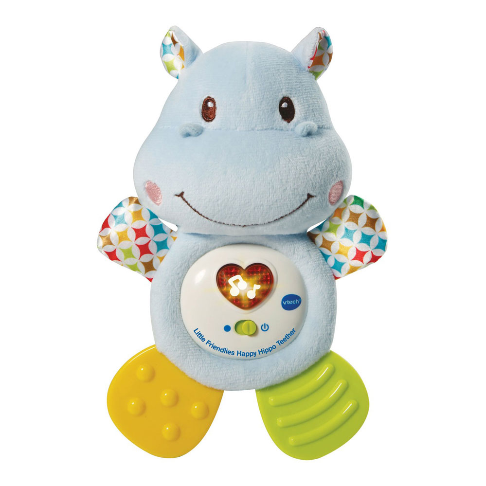 An image of Vtech Little Friendlies Happy Hippo Teether