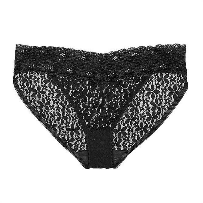 Wacoal Halo Lace Black Bikini Briefs