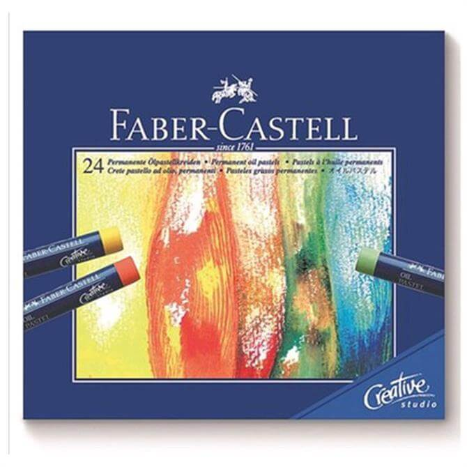 Faber Castell Box of 24 Oil Pastels