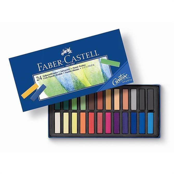 Faber Castell Box of 24 Soft Pastels
