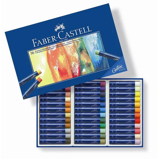Faber Castell Box of 36 Oil Pastels